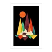The Great Outdoors (Black Variant) - vertical-print - small view