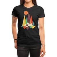 The Great Outdoors (Black Variant) - womens-regular-tee - small view