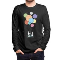 You Are My Universe (Black Variant) - mens-long-sleeve-tee - small view