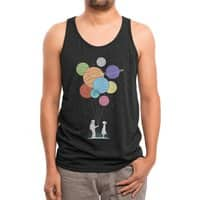 You Are My Universe (Black Variant) - mens-triblend-tank - small view