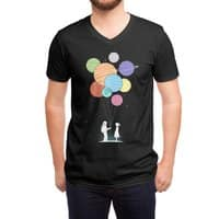 You Are My Universe (Black Variant) - vneck - small view