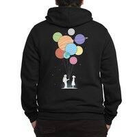 You Are My Universe (Black Variant) - zipup - small view