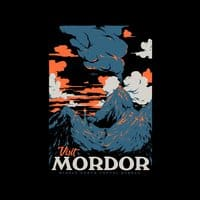 Visit Mordor (Black Variant) - small view