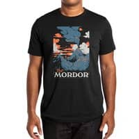 Visit Mordor (Black Variant) - mens-extra-soft-tee - small view