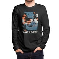 Visit Mordor (Black Variant) - mens-long-sleeve-tee - small view