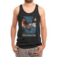 Visit Mordor (Black Variant) - mens-triblend-tank - small view