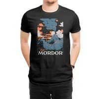 Visit Mordor (Black Variant) - mens-regular-tee - small view