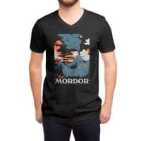 Visit Mordor (Black Variant) - vneck - small view