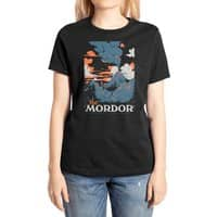 Visit Mordor (Black Variant) - womens-extra-soft-tee - small view