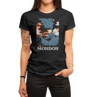 Visit Mordor (Black Variant) - womens-regular-tee - small view