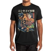 The Cat and the Koi (Black Variant) - mens-extra-soft-tee - small view