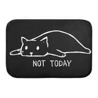 Not Today (Black Variant) - bath-mat - small view