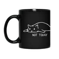 Not Today (Black Variant) - black-mug - small view