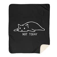 Not Today (Black Variant) - blanket - small view
