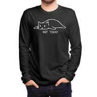 Not Today (Black Variant) - mens-long-sleeve-tee - small view