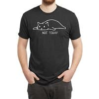 Not Today (Black Variant) - mens-triblend-tee - small view