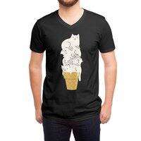 Meowlting (Black Variant) - vneck - small view