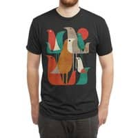 Flock of Birds (Black Variant) - mens-triblend-tee - small view