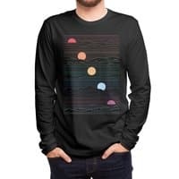 Many Lands Under One Sun (Black Variant) - mens-long-sleeve-tee - small view