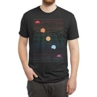 Many Lands Under One Sun (Black Variant) - mens-triblend-tee - small view