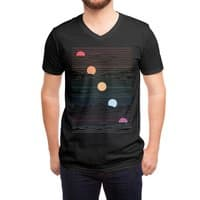 Many Lands Under One Sun (Black Variant) - vneck - small view