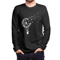 Going Where the Wind Blows (Black Variant) - mens-long-sleeve-tee - small view