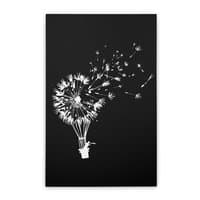 Going Where the Wind Blows (Black Variant) - vertical-stretched-canvas - small view