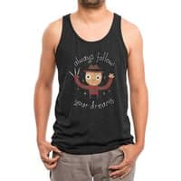 Always Follow Your Dreams (Black Variant) - mens-triblend-tank - small view