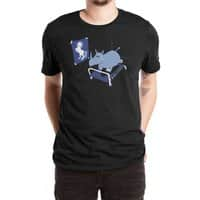 Runnin' Rhino (Black Variant) - mens-extra-soft-tee - small view