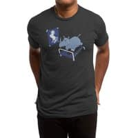 Runnin' Rhino (Black Variant) - mens-triblend-tee - small view