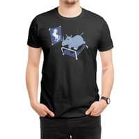 Runnin' Rhino (Black Variant) - mens-regular-tee - small view