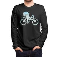 Octopus Bike (Black Variant) - mens-long-sleeve-tee - small view