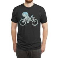 Octopus Bike (Black Variant) - mens-triblend-tee - small view