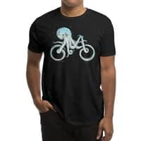 Octopus Bike (Black Variant) - mens-regular-tee - small view
