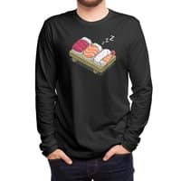 Sushi (Black Variant) - mens-long-sleeve-tee - small view