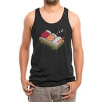 Sushi (Black Variant) - mens-triblend-tank - small view