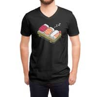 Sushi (Black Variant) - vneck - small view