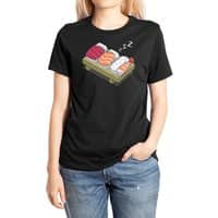 Sushi (Black Variant) - womens-extra-soft-tee - small view