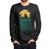 High Seas (Black Variant) - mens-long-sleeve-tee - small view