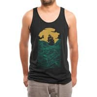 High Seas (Black Variant) - mens-triblend-tank - small view