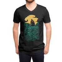 High Seas (Black Variant) - vneck - small view