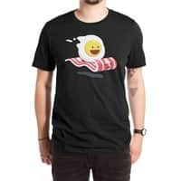 Magic Bacon Ride (Black Variant) - mens-extra-soft-tee - small view