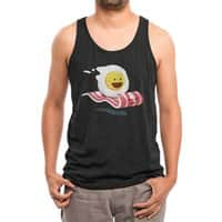 Magic Bacon Ride (Black Variant) - mens-triblend-tank - small view
