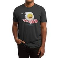 Magic Bacon Ride (Black Variant) - mens-triblend-tee - small view