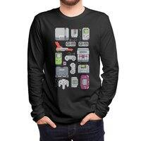A Pixel of My Childhood (Black Variant) - mens-long-sleeve-tee - small view