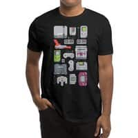 A Pixel of My Childhood (Black Variant) - mens-regular-tee - small view