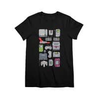 A Pixel of My Childhood (Black Variant) - womens-premium-tee - small view