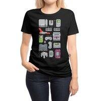 A Pixel of My Childhood (Black Variant) - womens-regular-tee - small view