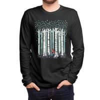 The Birches (Black Variant) - mens-long-sleeve-tee - small view