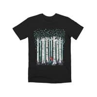 The Birches (Black Variant) - mens-premium-tee - small view